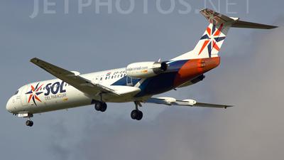 ZP-CAL - Fokker 100 - Sol del Paraguay