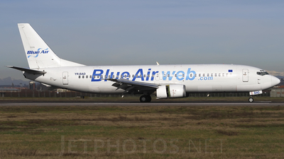 YR-BAD - Boeing 737-4C9 - Blue Air