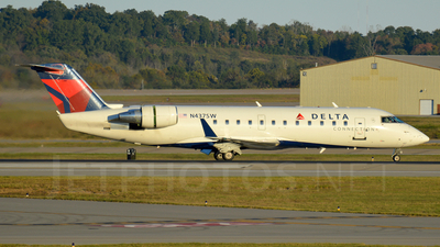 N437SW - Bombardier CRJ-200LR - Delta Connection (SkyWest Airlines)