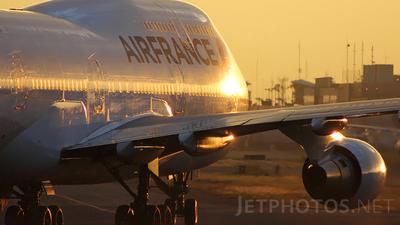 F-GITD - Boeing 747-428 - Air France
