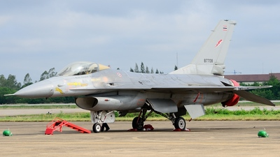 10312 - General Dynamics F-16A Fighting Falcon - Thailand - Royal Thai Air Force