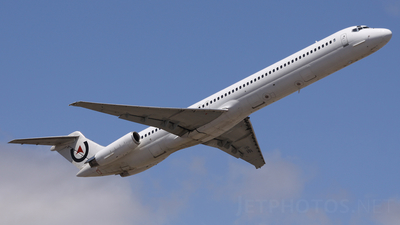 YR-HBE - McDonnell Douglas MD-83 - Air Vallée (Medallion Air)