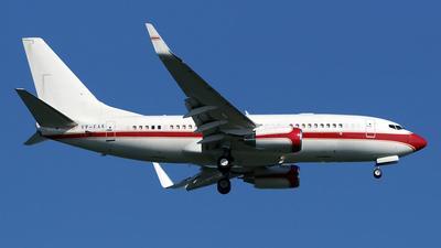 VP-CAE - Boeing 737-7KK(BBJ) - Pacific Sky Aviation