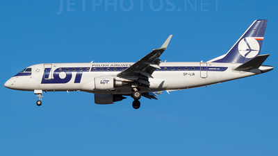 SP-LIA - Embraer 170-200STD - LOT Polish Airlines