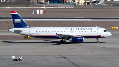 N663AW - Airbus A320-232 - US Airways