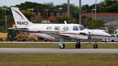A picture of N84CF - Piper PA31T1 Cheyenne I - [31T8304003] - © John Magero