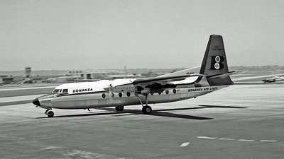 N146L - Fairchild F-27A - Bonanza Airlines