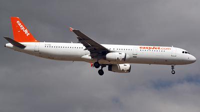 G-TTIE - Airbus A321-231 - easyJet