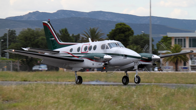 F-HDCS - Beechcraft C90A King Air - Private