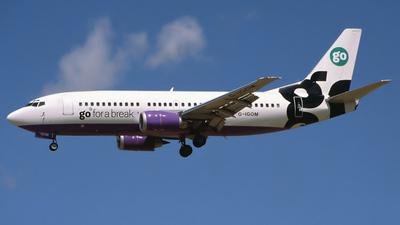 G-IGOM - Boeing 737-36N - Go Fly