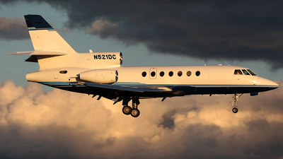 N521DC - Dassault Falcon 50 - Mendota Aircraft Management