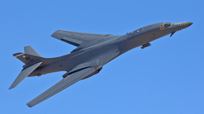 86-0123 - Rockwell B-1B Lancer - United States - US Air Force (USAF)
