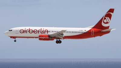 D-ABBZ - Boeing 737-85F - Air Berlin