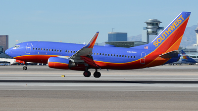 N463WN - Boeing 737-7H4 - Southwest Airlines