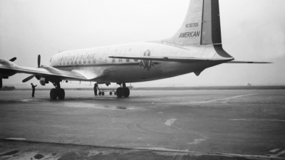 NC90709 - Douglas DC-6 - American Airlines