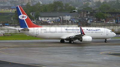 7O-ADM - Boeing 737-8Q8 - Yemenia - Yemen Airways