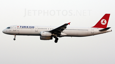 TC-JMD - Airbus A321-231 - Turkish Airlines