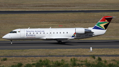 ZS-NMG - Bombardier CRJ-200ER - South African Express