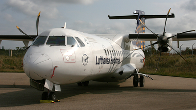 D-ANFG - ATR 72-212A(500) - Lufthansa Regional (Contact Air)