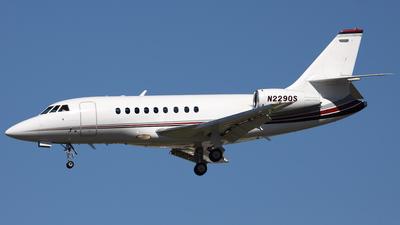 N229QS - Dassault Falcon 2000 - NetJets Aviation