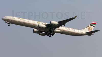 A6-EHI - Airbus A340-642X - Etihad Airways
