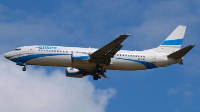 SP-ENA - Boeing 737-4Q8 - Enter Air