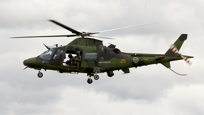 15025 - Agusta A109LUH - Sweden - Armed Forces