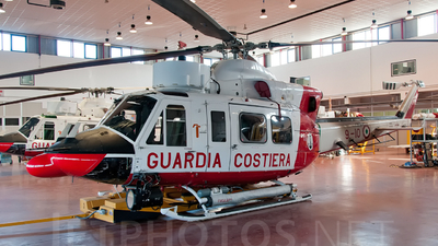 MM81512 - Agusta-Bell AB-412HP - Italy - Coast Guard