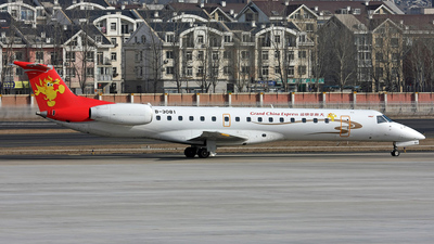 B-3081 - Embraer ERJ-145LI - Grand China Express