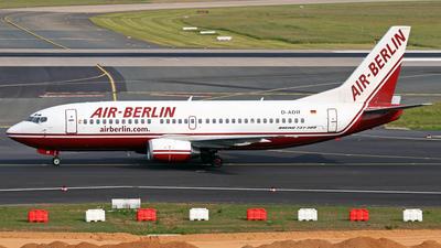 D-ADIF - Boeing 737-3L9 - Air Berlin (dba)