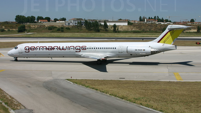 SE-RDR - McDonnell Douglas MD-82 - Germanwings (Nordic Airlink)