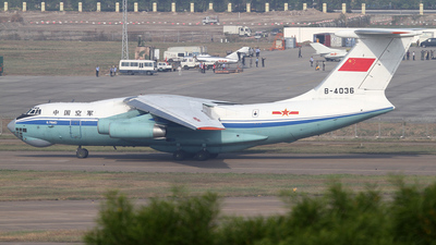 B-4036 - Ilyushin Il-76MD - China - Air Force