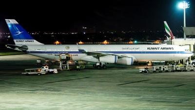 9K-ANC - Airbus A340-313 - Kuwait Airways