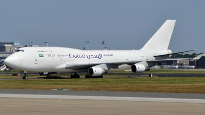 TF-AMF - Boeing 747-412(BCF) - Saudi Arabian Airlines Cargo (Air Atlanta Icelandic)