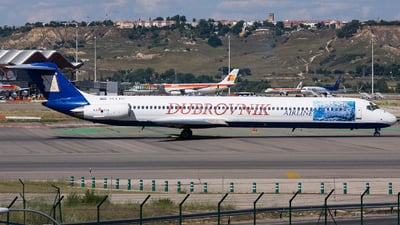 9A-CDE - McDonnell Douglas MD-82 - Dubrovnik Airline