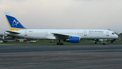 N512TZ - Boeing 757-2K2 - Axis Airways