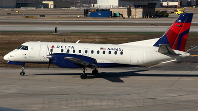 N446XJ - Saab 340B+ - Delta Connection (Mesaba Airlines)