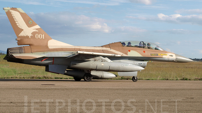 001 - Lockheed Martin F-16B Netz - Israel - Air Force