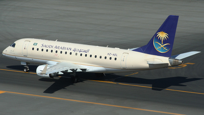 A picture of HZAEL - Embraer E170LR - [17000152] - © John Fitzpatrick