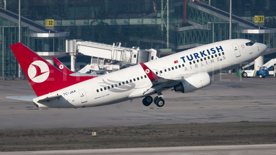 TC-JKK - Boeing 737-752 - Turkish Airlines