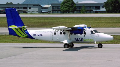 9M-MDL - De Havilland Canada DHC-6-300 Twin Otter - MASWings