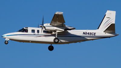 N848CE - Rockwell 690A Turbo Commander - Private
