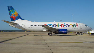 LY-FLH - Boeing 737-382 - Small Planet Airlines