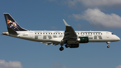 N164HQ - Embraer 190-100IGW - Frontier Airlines (Republic Airlines)