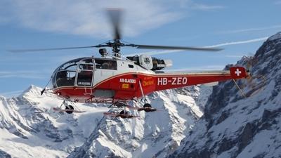 HB-ZEQ - Aérospatiale SA 316B Alouette III - Air-Glaciers