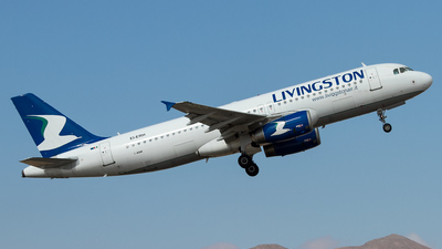 EI-ERH - Airbus A320-232 - Livingston Airlines