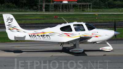 A picture of N831ED - Cirrus SR22 - [3188] - © Agustin Anaya