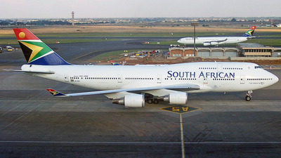 ZS-SBK - Boeing 747-4F6 - South African Airways