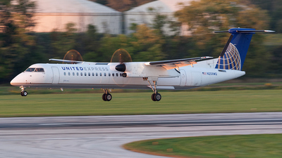 N208WQ - Bombardier Dash 8-Q402 - United Express (Republic Airlines)