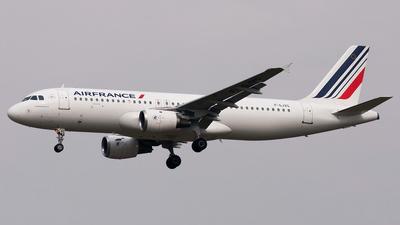 F-GJVG - Airbus A320-211 - Air France